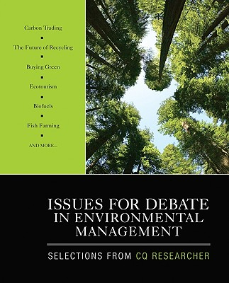Issues for Debate in Environmental Management By Sage Publications Inc. (COR)